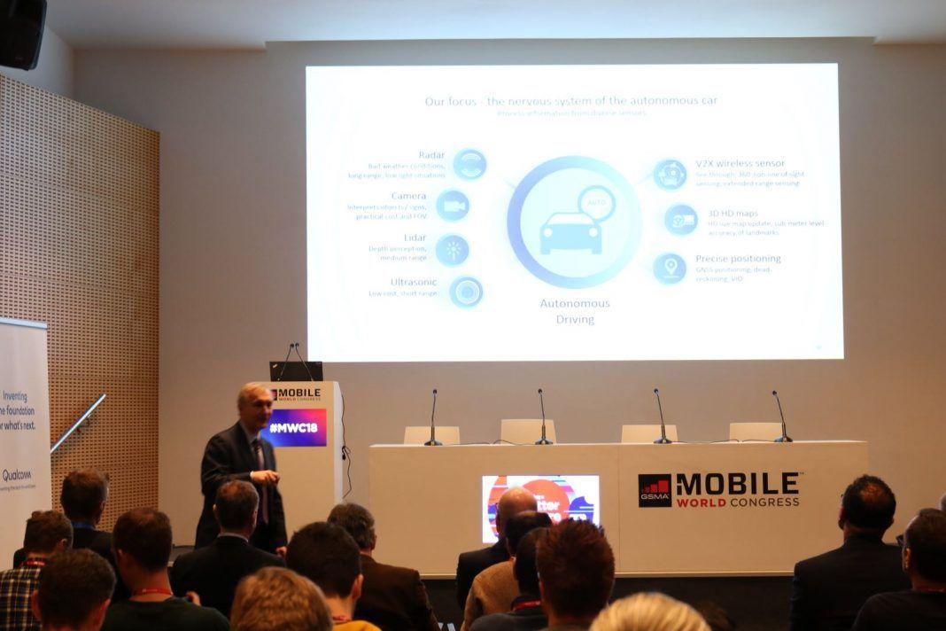 qualcomm coche conectado mobile world congress