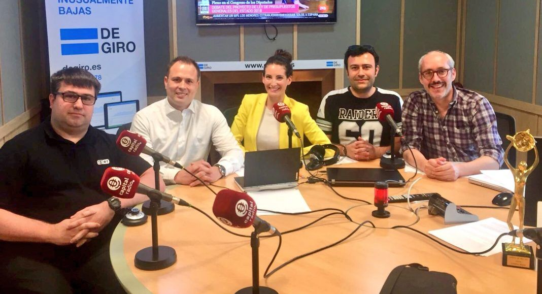 Capital Radio ciberseguridad con Incibe y ESET