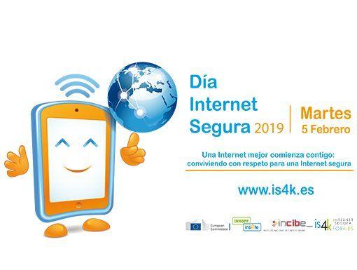 dia de internet segura safer internet day incibe 2019 5 de febrero 2019 madrid ciberseguridad menores proteccion de datos internet mejor