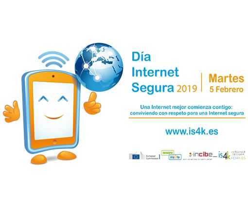 dia de internet segura safer internet day incibe 2019 5 de febrero 2019 madrid ciberseguridad menores proteccion de datos internet mejor